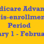 medicare advantage disenrollment